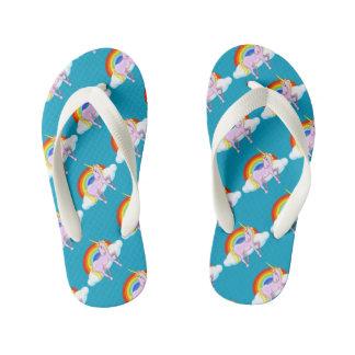 Kids Unicorn Flip-Flops Kid's Thongs