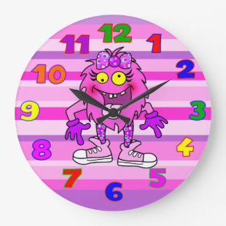 kids wall clock,kids room,Girls room Wallclocks