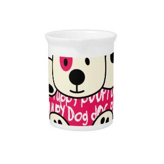 kids wear, baby dog pitcher