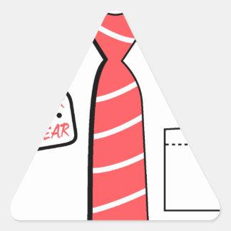 kids wear, cool design triangle sticker