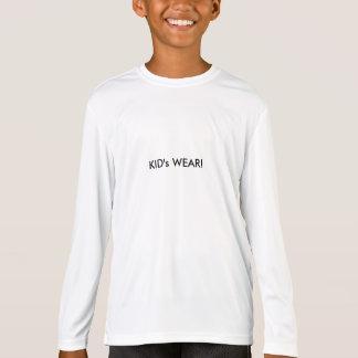 Kid's wear sport long sleeve t-shirt