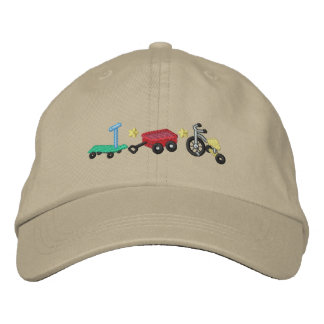 Kid's Wheels Embroidered Baseball Cap