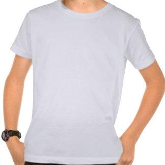 Kid's White Organic Shirt - USA