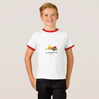kids with glasses t-shirt - heroes