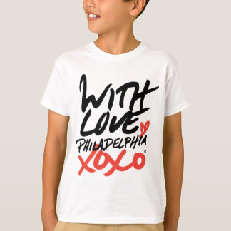 Kid's With Love, Philadelphia XOXO T-Shirt