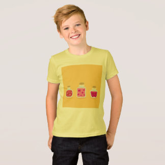 KIDS yellow t-shirt with Love Jams