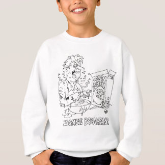 Kid's Zombie Cartoon Sweat Shirt