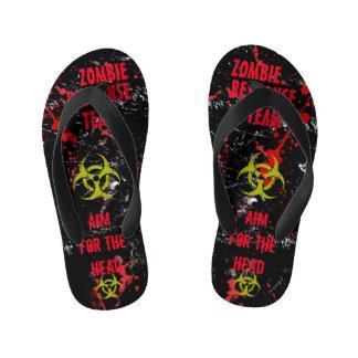 Kids Zombie Theme Party Response Team! Thongs