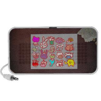 KIDS ZOO Animal Cartoon Collections Laptop Speaker