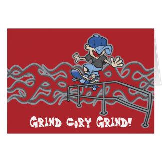 Kidslide Skateboarding Graphic Card