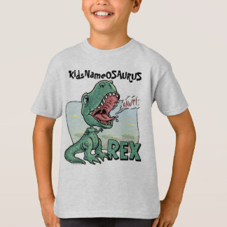 KidsNameOSAURUS Rex Edit with your kid's name! T-Shirt