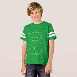 Kids'Unisex Football Shirt,  whose name is it ?, T-Shirt