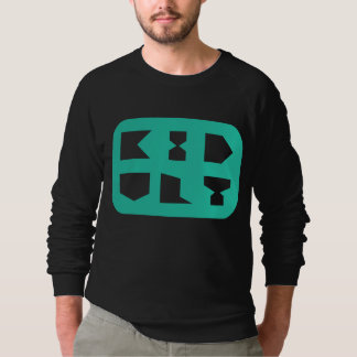 KIDULT SQUIRCLE MINT SWEATSHIRT