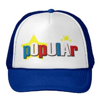 "KIDZ INCORP. - ""POPULAR"" HAT"