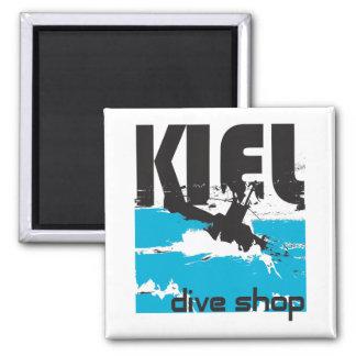 Kiel Dive Shop Magnet