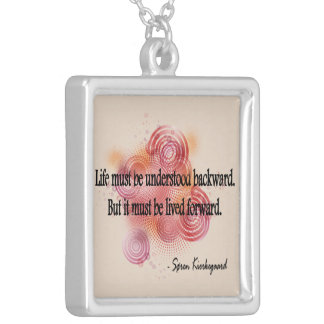 Kierkegaard Silver Plated Necklace