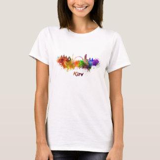 Kiev skyline in watercolor T-Shirt