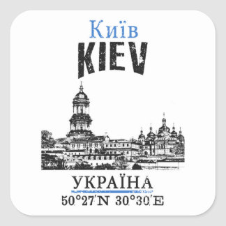 Kiev Square Sticker