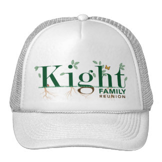 Kight Family Reunion 2009 Cap
