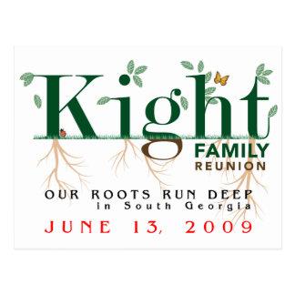 Kight Family Reunion 2009 Postcard