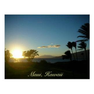 Kihei Sunset Postcard