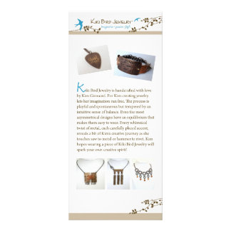 Kiki Bird Jewelry Rack Card