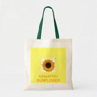 kikka4YOU Sunflower Tote Bags