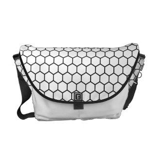 Kikkoutsunagi Japanese Pattern Messenger Bag