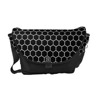 Kikkoutsunagi Japanese Pattern Messenger Bag B