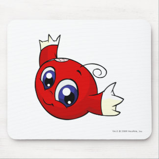Kiko Red Mouse Pad