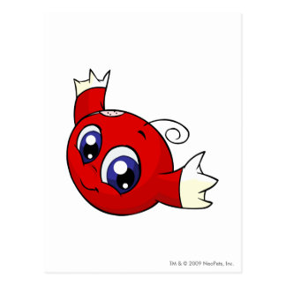 Kiko Red Postcard