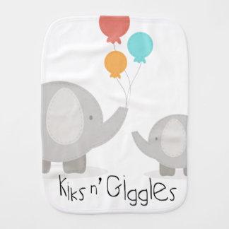 Kiks n' Giggles Burp Cloth