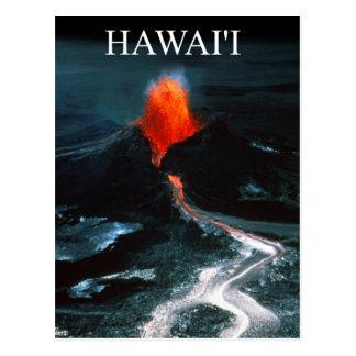Kilauea eruption, Hawai'i Volcanoes National Park Postcard