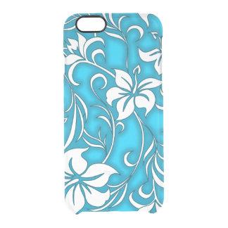 Kilauea Hibiscus Hawaiian Floral Clear iPhone 6/6S Case