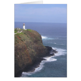 Kilauea Point Lighthouse Greeting Card