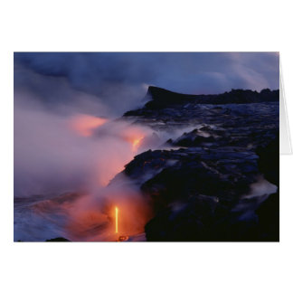 Kilauea Volcano, Hawaii Volcanoes National Park, 2 Card