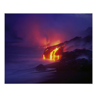 Kilauea Volcano Hawaii Volcanoes National Park 2 Print