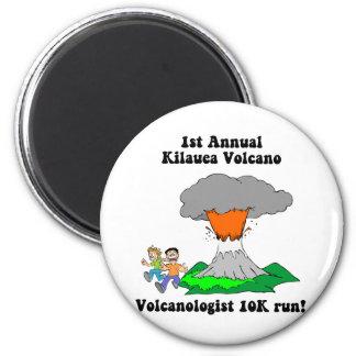 Kilauea volcano magnet