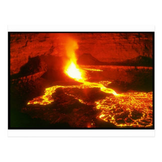 Kilauea Volcano Postcard