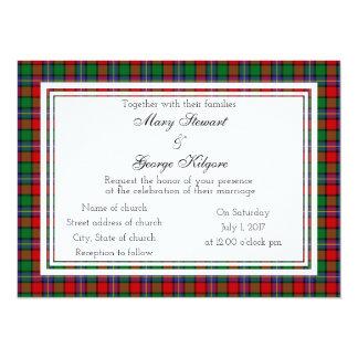 Kilgore Scottish Wedding Invitation