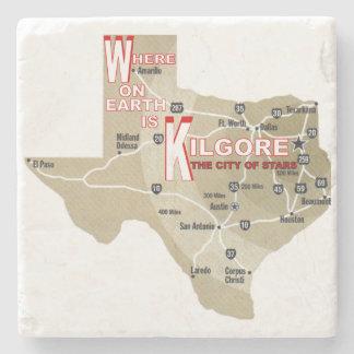 Kilgore Texas Souvenir Stone Coaster