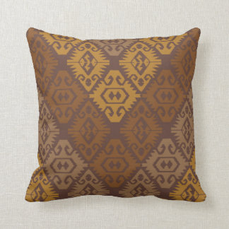 Kilim , Aztec Cushion