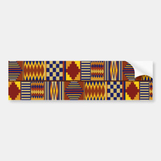Kilim Prayer Rug design Bumper Sticker