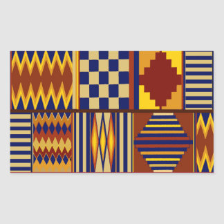 Kilim Prayer Rug design Rectangular Sticker