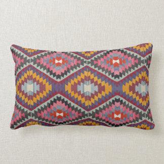 Kilim Style Lumbar Pillow