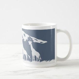 Kilimanjaro (Blue) Coffee Mug