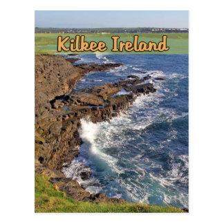 Kilkee Ireland Postcard