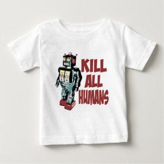 Kill All Humans Baby T-Shirt
