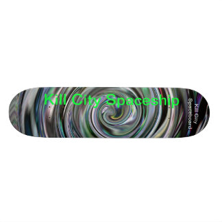 Kill City Spaceboard Skateboard Deck