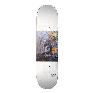 Kill whale art skate board decks
